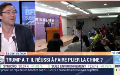 Commerce Chine – États Unis : accords obtenus et désaccords en vue
