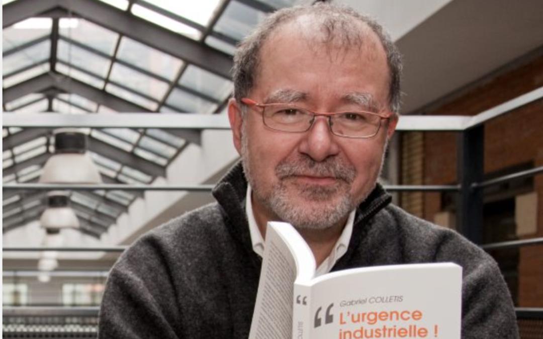 Industrie : Gabriel Colletis relance son manifeste